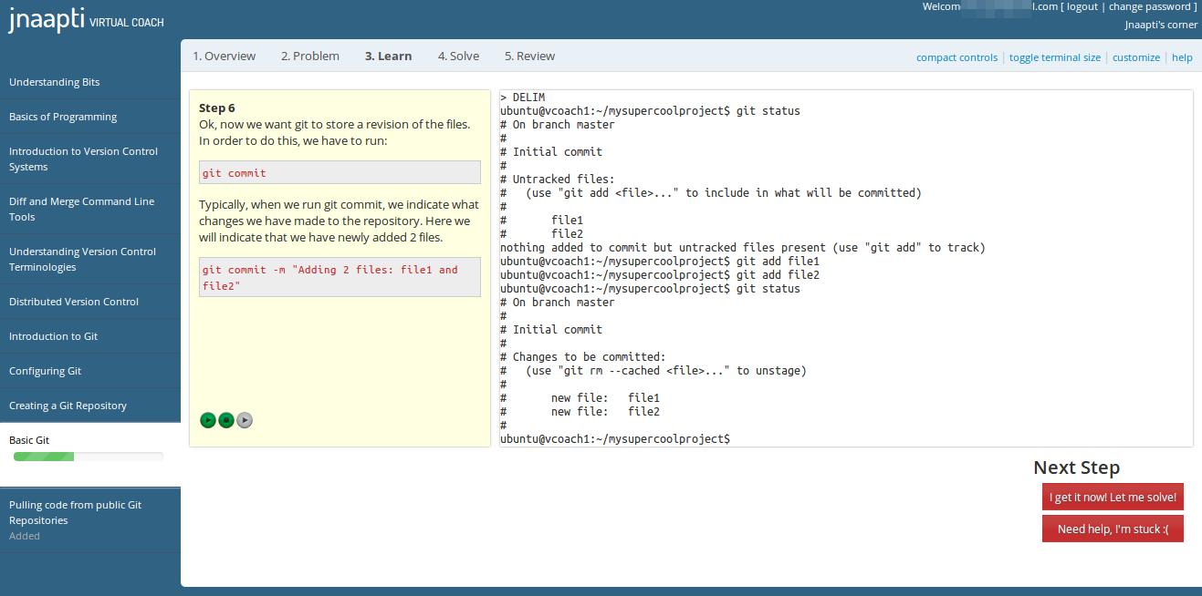 Git Version Control in v2